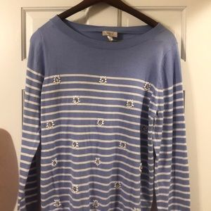 Embellished Loft sweater